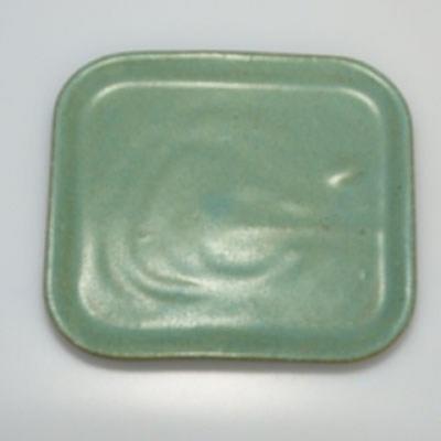 Bonsai bowl + tray H37 - bowl 14 x 12 x 7 cm, tray 14 x 13 x 1 cm - 3