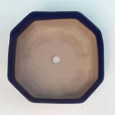 Ceramic bonsai bowl H 14 - 17,5 x 17,5 x 6,5 cm - 3