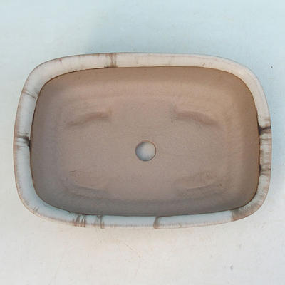Ceramic bonsai bowl H 02 - 19 x 13,5 x 5 cm - 3