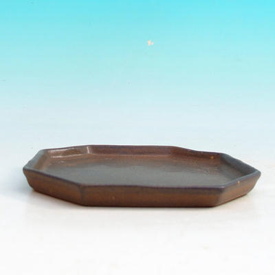 Bonsai tray 13 - 11 x 11 x 1,5 cm, blue - 11 x 11 x 1.5 cm - 3