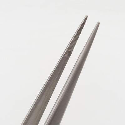 Tweezers and grab 22 cm - stainless steel - 3