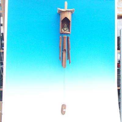 Bamboo wind chimes Budha 120 cm - 3
