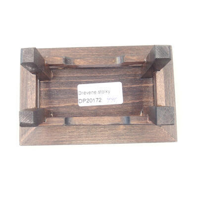 Wooden table under the bonsai brown 13 x 8.5 x, 5 cm - 4