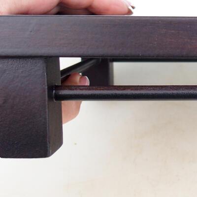 WOODEN TABLE UNDER BONSAI BROWN 25 X 19 X 5.5 CM - 4