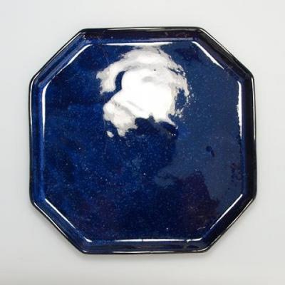 Bonsai bowl tray H14 - bowl 17,5 x 17,5 x 6,5, tray 17,5 x 17,5 x 1,5 - 4