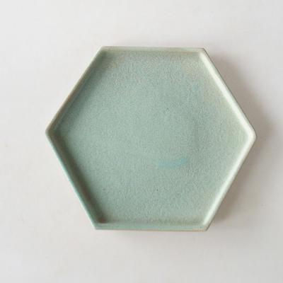 Bonsai bowl + saucer H 57 - bowl 19 x 18 x 7.5 m, saucer 19 x 18 x 1.5 cm - 5
